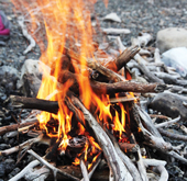 BEACH ACTIVITIES - Relax on the beach with a campfire